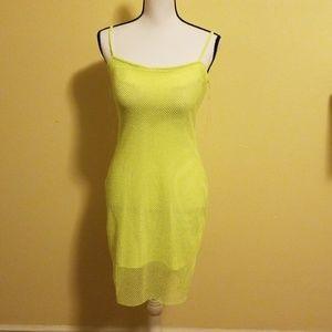Beautiful neon color dress